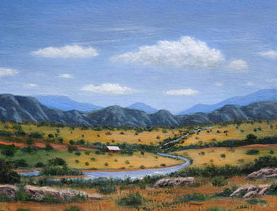 Painting - Good Land by Gordon Beck