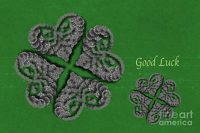 Digital Art - Good Luck by Afrodita Ellerman