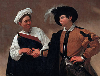 Painting - Good Luck by Caravaggio