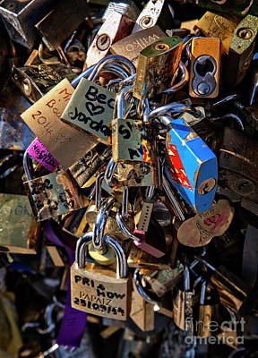 Photograph - Romance Locks by Scott Kemper