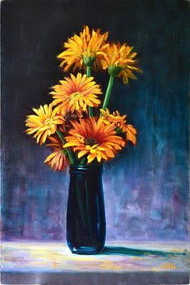 Painting - Good Luck by Ningning Li
