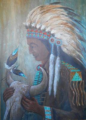 Lynn Burton Wall Art - Painting - Good Medicine by Lynn Burton