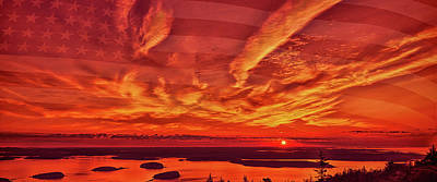 Photograph - Good Morning America Mug Shot by John M Bailey