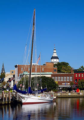 Good Morning Annapolis Art Print by Edward Kreis