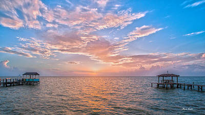 Good Morning Aransas Bay Art Print
