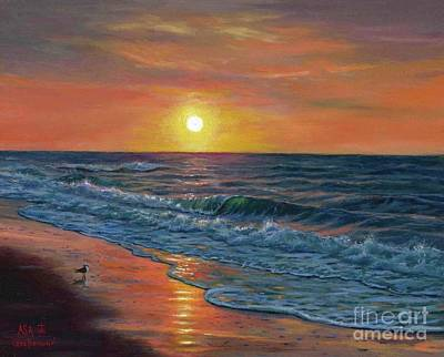 Myrtle Beach Painting - Good Morning by Asa Gochenour