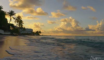 Digital Art - Good Morning Barbados by Garvin Hunter