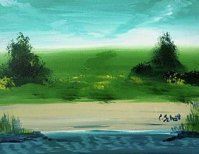 Painting - Good Morning Bay by Christina Schott