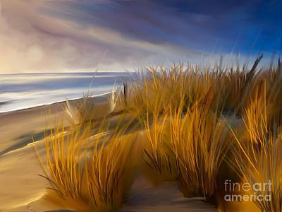 Good Morning Beach Day Art Print
