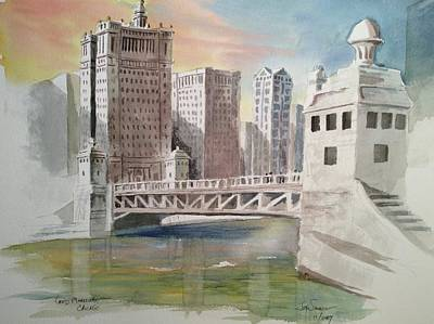 Painting - Good Morning, Chicago - 3 by Jim Stovall