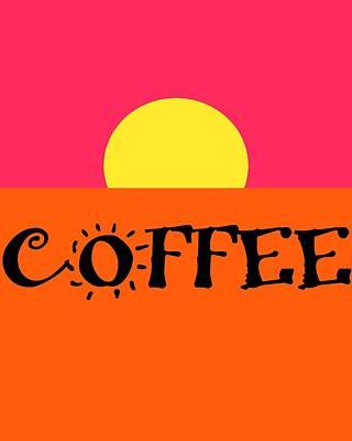 Good Morning Coffee Art Print by Dan Sproul