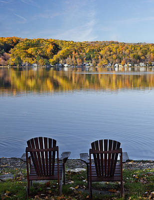 Photograph - Good Morning Conesus Lake by Richard Engelbrecht