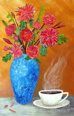 Desiree Rose Painting - Good Morning by Desiree Paquette