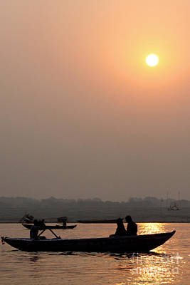 Photograph - Good Morning, Ganga Ji by PJ Boylan
