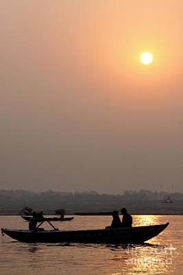 Photograph - Good Morning, Ganga Ji by PJ Boylan