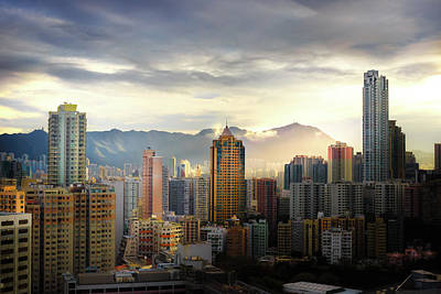 Photograph - Good Morning, Hong Kong by Geoffrey Lewis