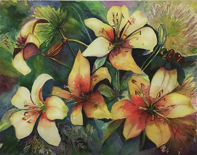 Painting - Good Morning Lily by Jane Ricker
