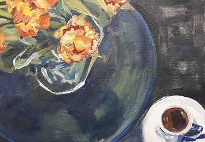 Painting - Good Morning Love by Christel Roelandt