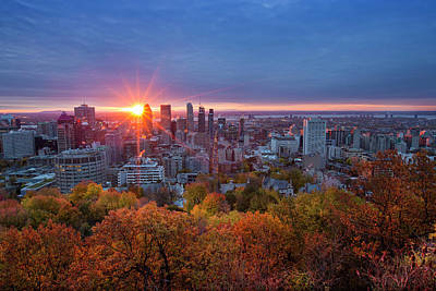 Montreal Cityscapes Photograph - Good Morning Montreal by Mircea Costina Photography