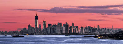 Skylines Royalty-Free and Rights-Managed Images - Good Morning New York by Evelina Kremsdorf