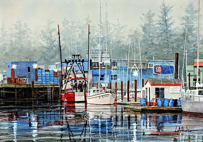 Painting - Good Morning Newport by Bill Hudson