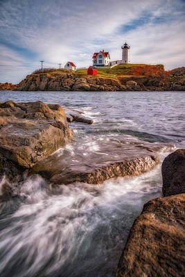 Good Morning Nubble Art Print by Darren White