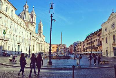 Photograph - Good Morning Piazza by JAMART Photography