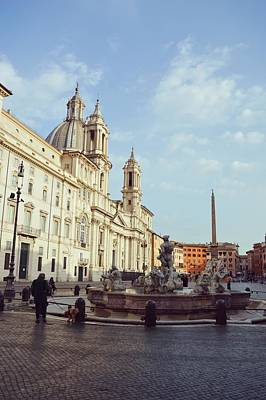 Photograph - Good Morning Piazza Navona by JAMART Photography