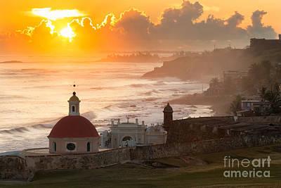 Garita Photograph - Good Morning San Juan by Ernesto Ruiz