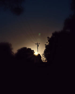 Photograph - Good Morning Scurry Texas by Philip A Swiderski Jr