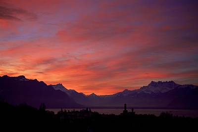Vevey Photograph - Good Morning, Sky by Colleen Williams