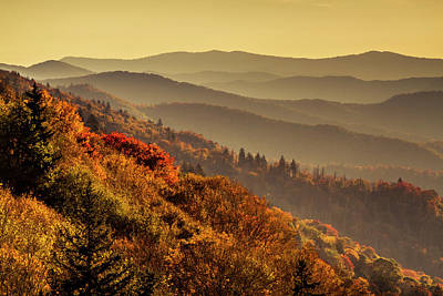 Photograph - Good Morning Smoky Mountains by Teri Virbickis