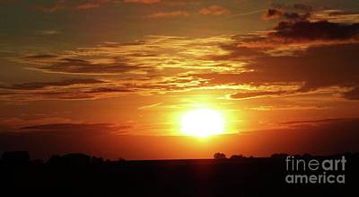 Photograph - Good Morning Sun  by J L Zarek