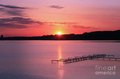 Photograph - Good Morning Traverse City 2 by Rachel Cohen