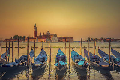 Good Morning Venice Art Print by Chris Fletcher