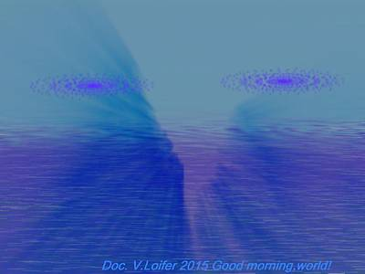 Digital Art - Good Morning World by Dr Loifer Vladimir