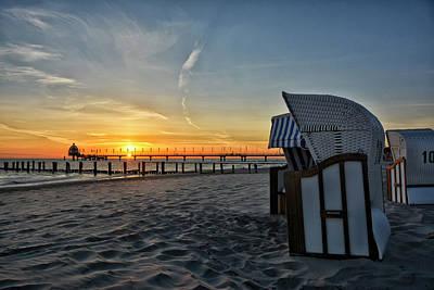Baltic Sea Photograph - Good Morning Zingst by Joachim G Pinkawa