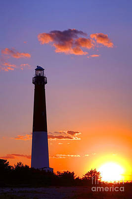 Photograph - Good Night Barnegat by Olivier Le Queinec