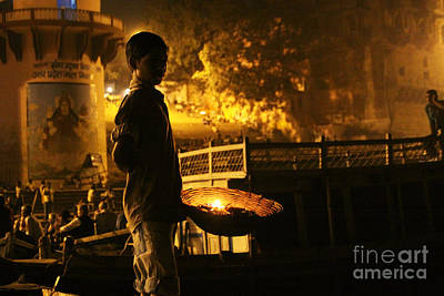 Photograph - Good Night, Ganga Ji by PJ Boylan