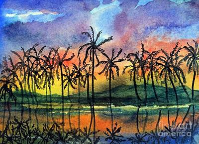 Painting - Good Night Hawaii by Randy Sprout