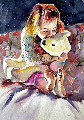 Painting - Good Night by Kovacs Anna Brigitta