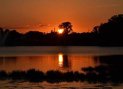 Photograph - Good Night - Lake City Florida by rd Erickson