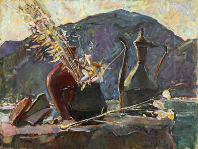 Painting - Good Night Montenegro by Juliya Zhukova