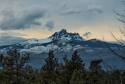 Photograph - Good Night Mountain by Belinda Greb