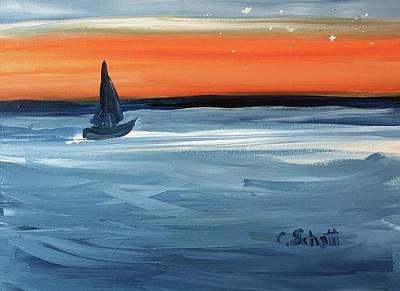 Painting - Good Night Star Light by Christina Schott