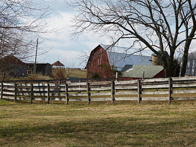 Art Print featuring the photograph Good Old Barn by Donald C Morgan