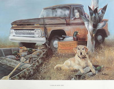 Painting - Good Old Boys' Toys  Sold by Jack Bolin