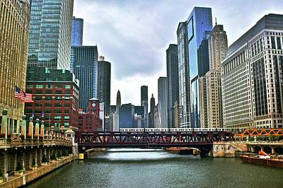 Photograph - Good Old Chicago by Frozen in Time Fine Art Photography