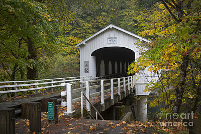 Photograph - Good Pasture Bridge by Idaho Scenic Images Linda Lantzy
