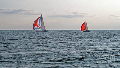 Photograph - Good Sailing by Ann Horn